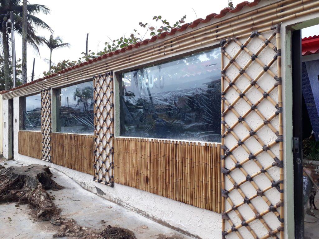 painel de bambu tratado