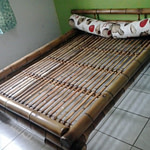Móveis de bambu