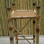 aparador de bambu