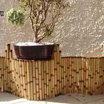 comprar cerca de bambu para jardim
