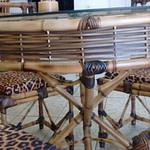 mesa de bambu cana da índia