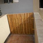 Portão de bambu