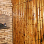 Divisória de bambu para sala