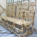 BANCO DE JARDIM feito em bambu