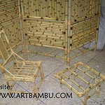 Biombos de bambu