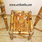 decorar com trabalhos de bambu