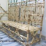 Banco de bambu cana da índia