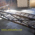 Sofá de bambu