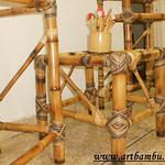 banquetinha de bambu