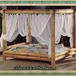 cama marrouquina de bambu