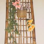 arranjos de bambu para plantas