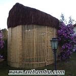 decorações com bambu tratado