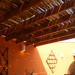 Pérgolas e coberturas de bambu