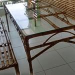 móveis de bambu sob medida