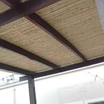 esteira de bambu para cobrir pergolado