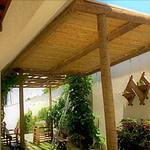 revestir com painel de bambu