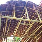 Cobertura térmica de bambu