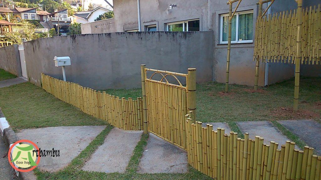 Comprar cerca de bambu em 12 parcelas