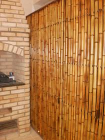 divisórias de bambu cana da índia tratada