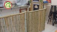 Como fazer uma cerca de bambu bem elaborada