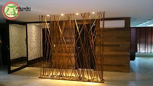 Como fazer uma treliça de bambu chamar a atenção