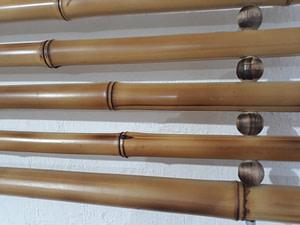 Cerca de bambu vazada,uma ideia brilhante.