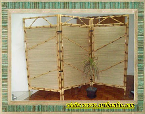 Read more about the article Biombos de bambu para decorações e separadores de ambientes