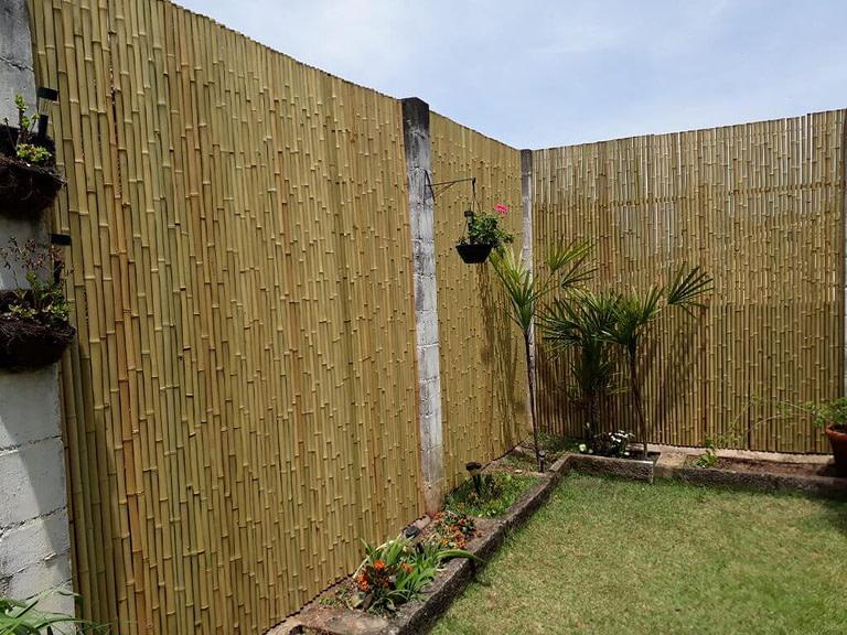 modificar a Cerca de bambu